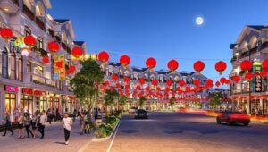 Shophouse Indochine grand world phú quốc