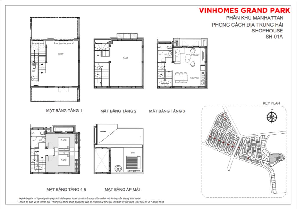 Shophouse Vinhomes Grand Park 25