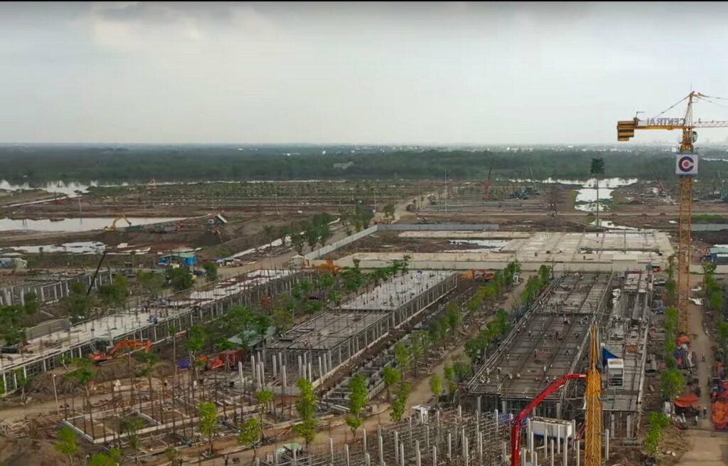 Tiến độ xây dựng phân khu The Mahattan 7/2020