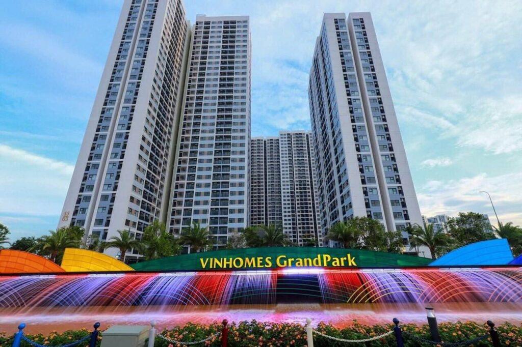 Khu The Rainbow đã được bàn giao VInhomes Grand Park